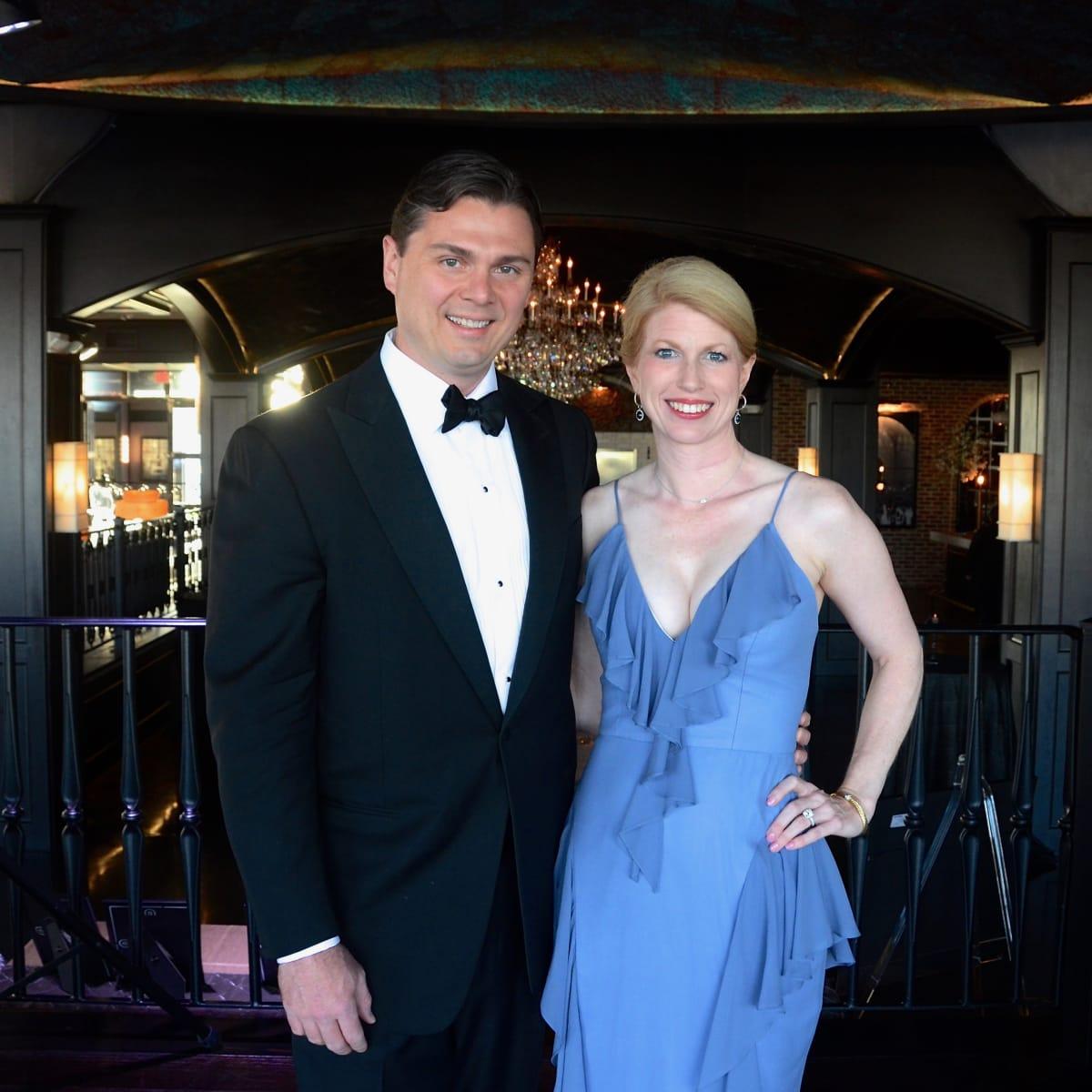 Collin Cox, Jacquelyn Cox at 2017 Da Camera Gala
