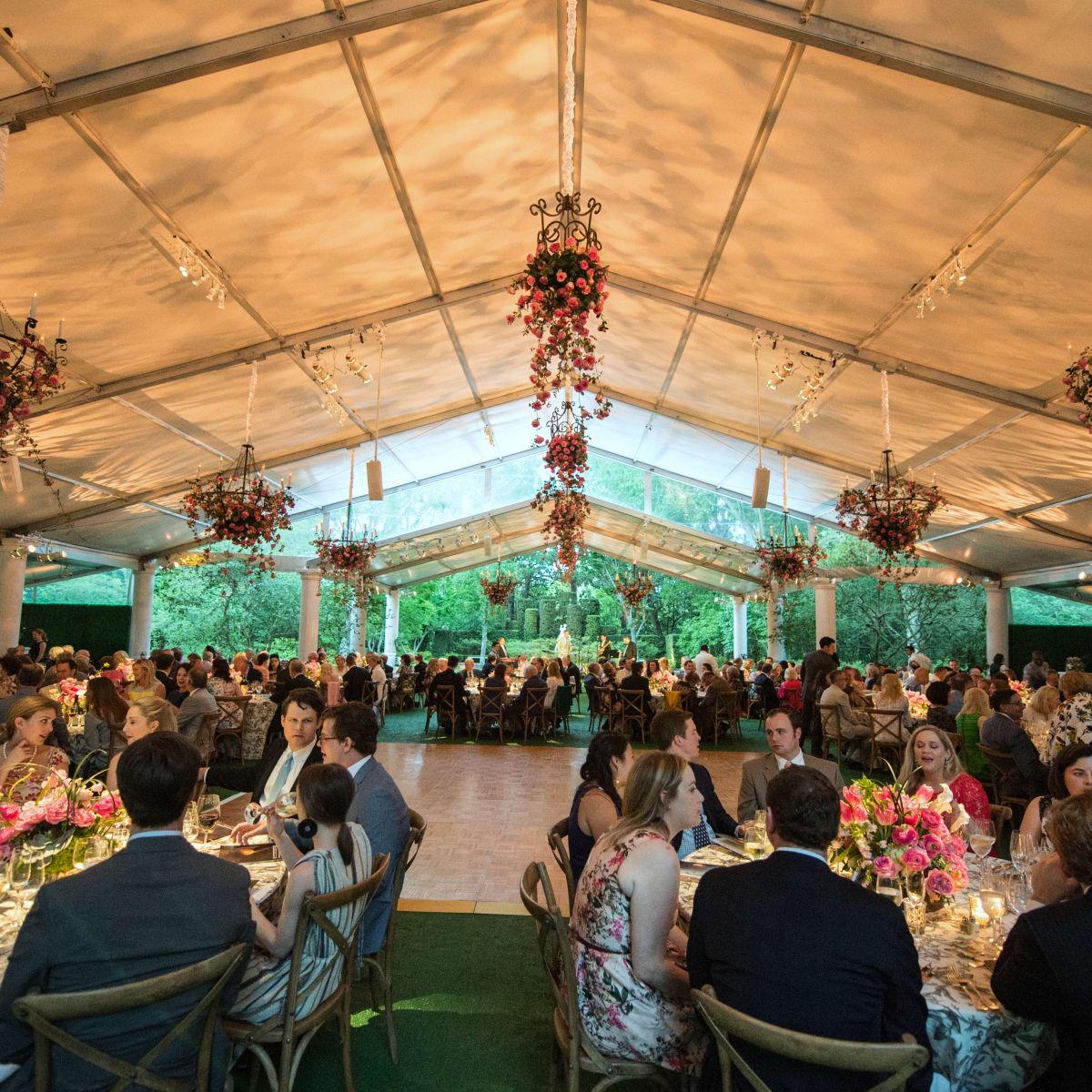 Houston, Bayou Bend Garden party, April 2017, Bayou Bend Garden Party decor