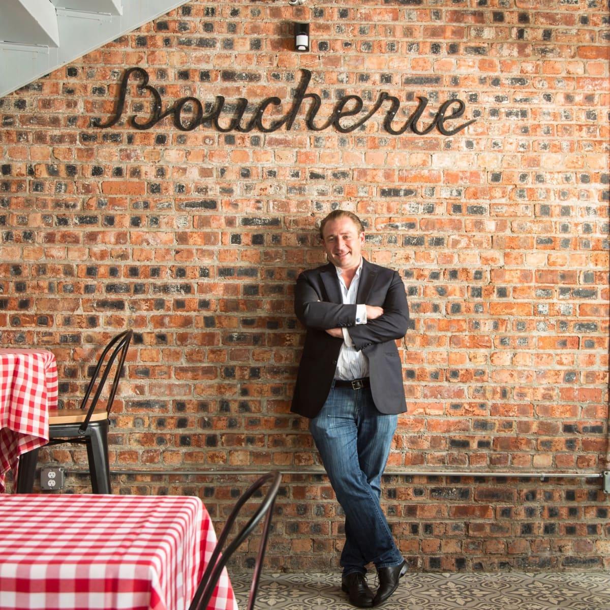 B&B Butchers owner Benjamin Berg