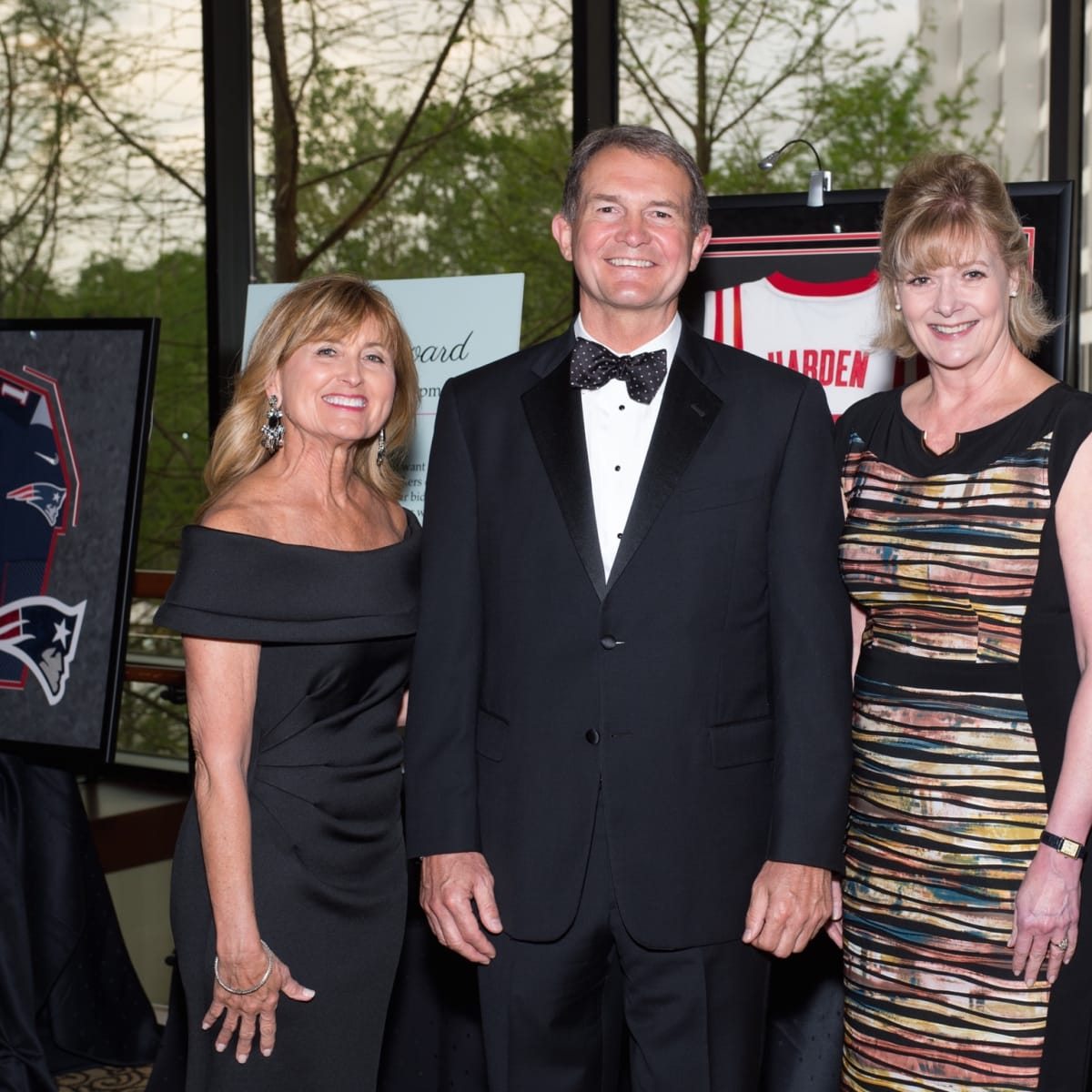 Marlene & Kurt Nondorf, Leslie Bourne at Covenant House Gala 2017