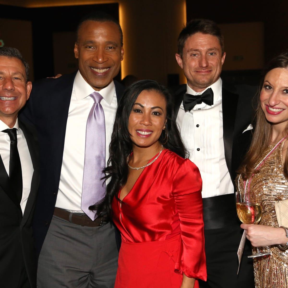 Brian Franco, Len Cannon, Chau Nguyen, Chris Smith, Laura Thompson at Houston Area Women's Center Gala