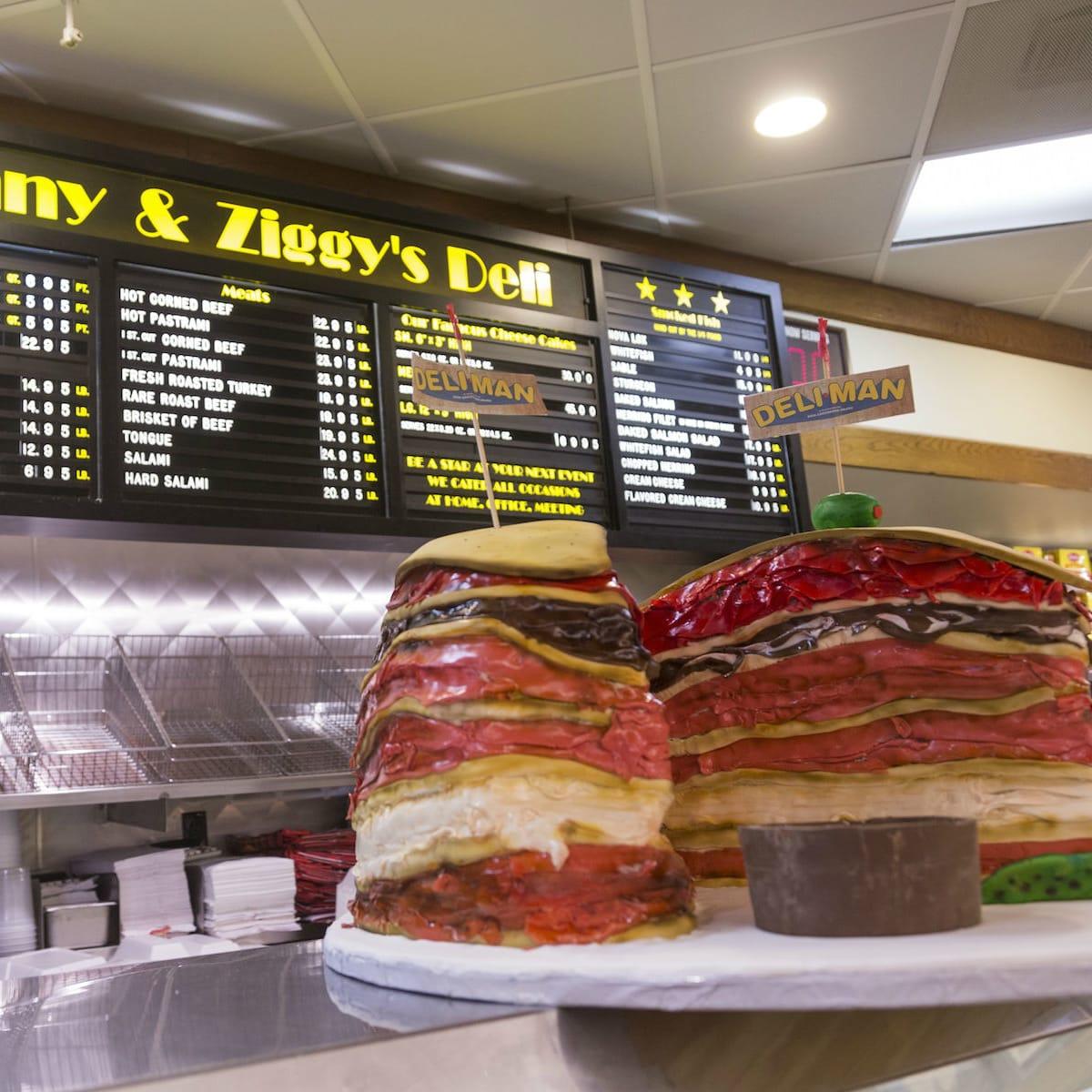 Kenny & Ziggy's Deli Man cake