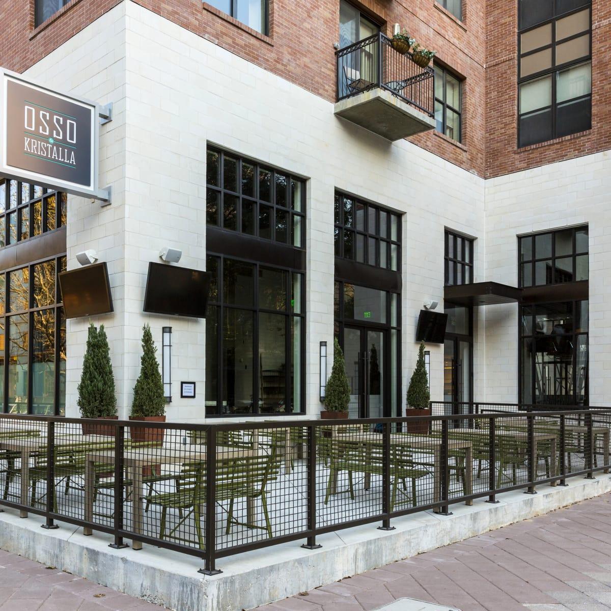 Houston, new patios, April 2017, Osso and Kristalla