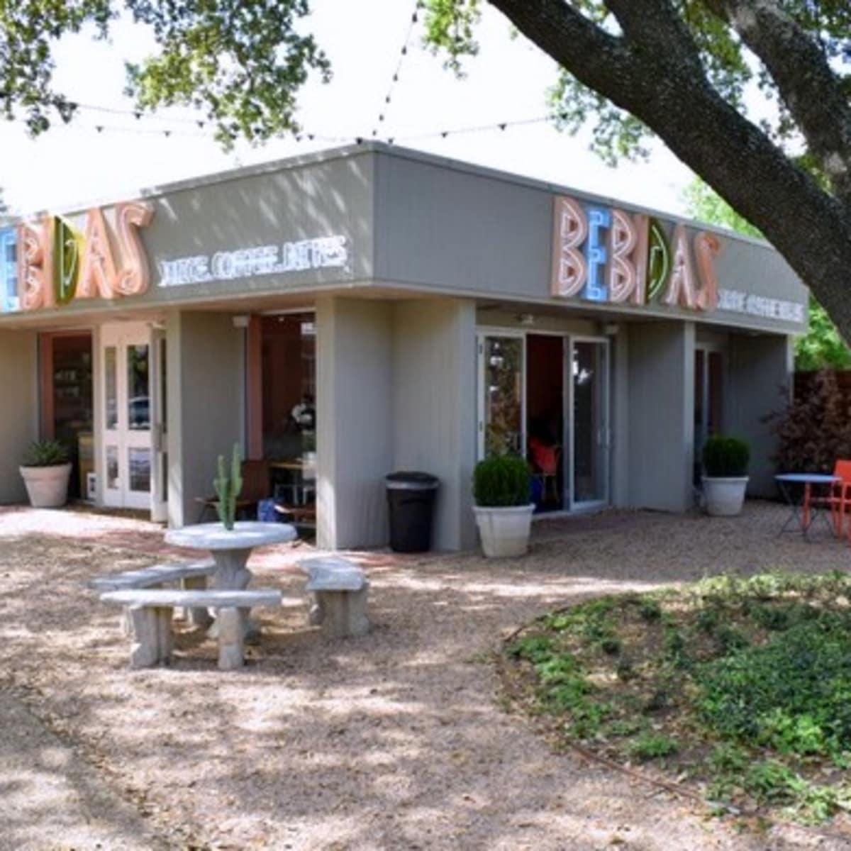 Houston, new patios, April 2017, Bebidas