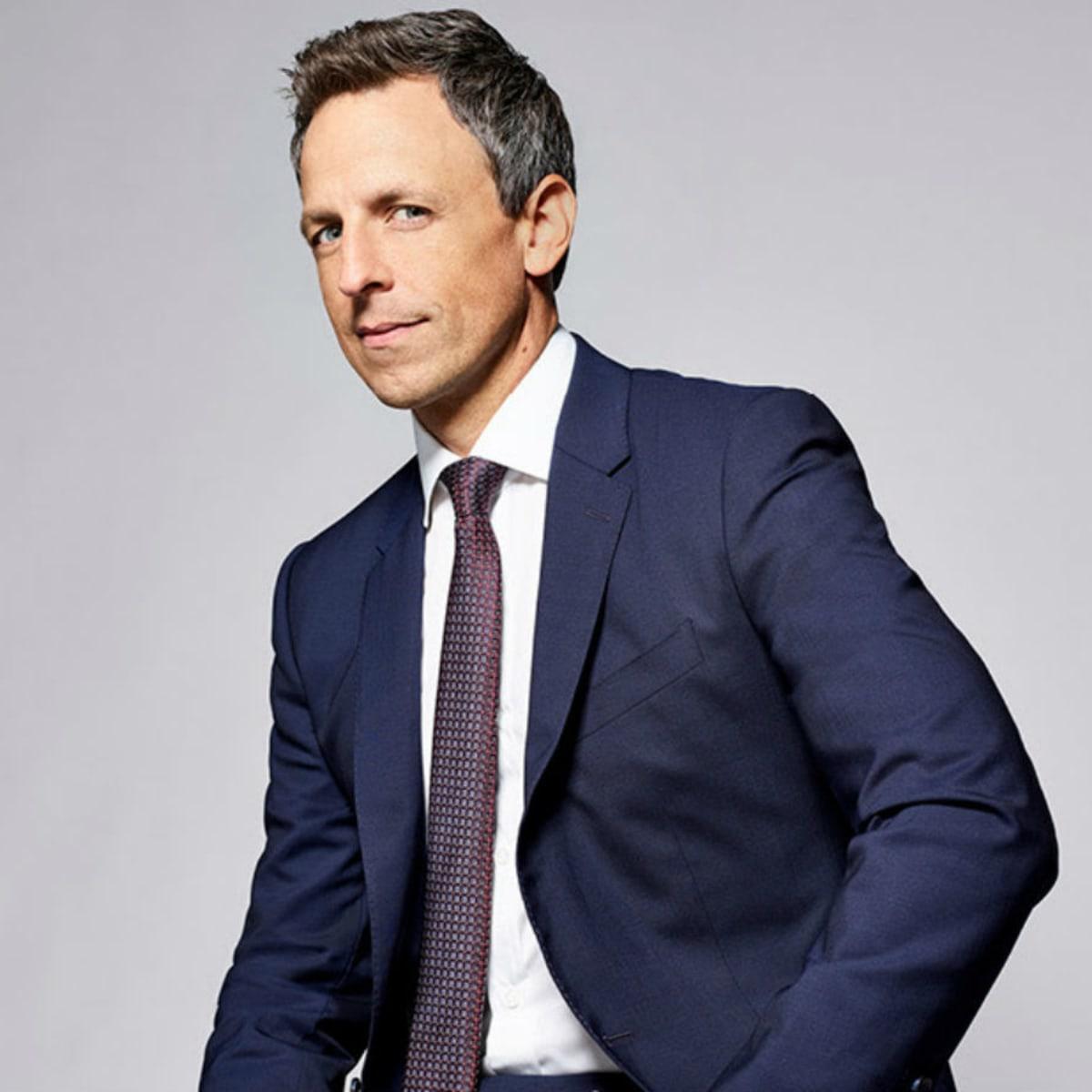 late night tv host Seth Meyers