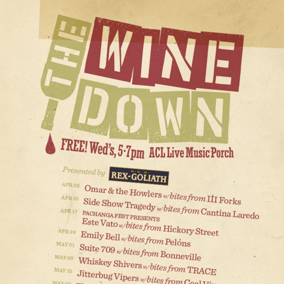 Austin Photo Set: Events_The Wine Down_ACL Live_Apr 2013