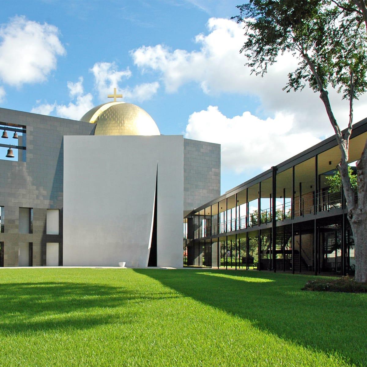 Preservation Houston Walking Tour: University of St. Thomas & Menil Campus Architecture Walk