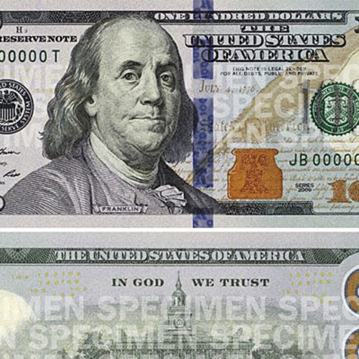 New $100 bill wider