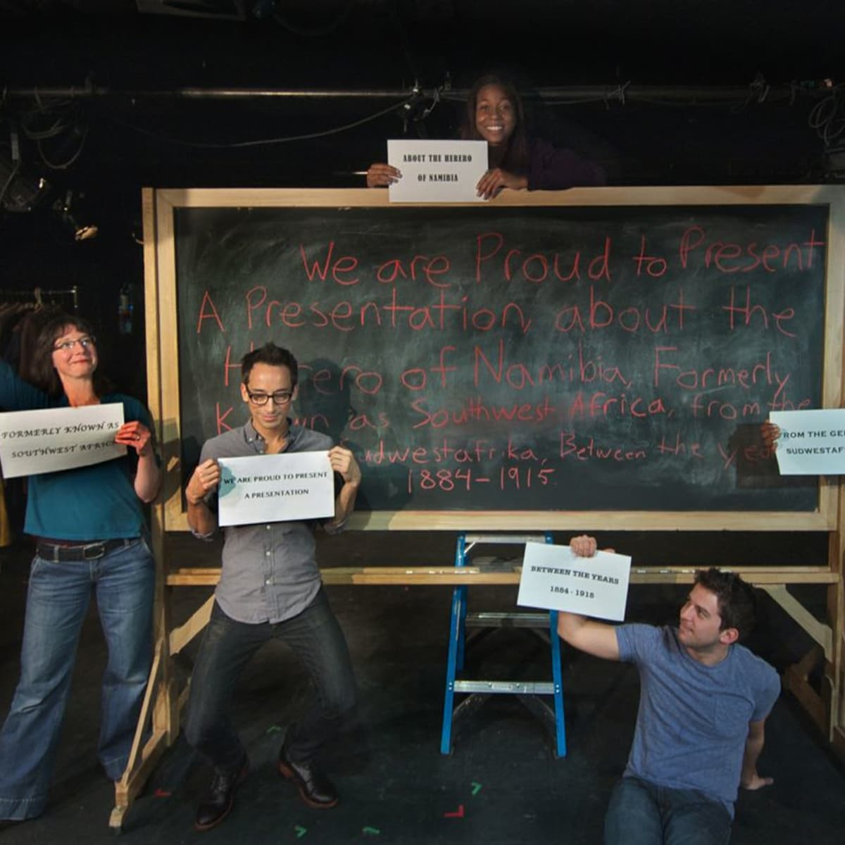 Undermain Theatre presents We Are Proud to Present a Presentation...