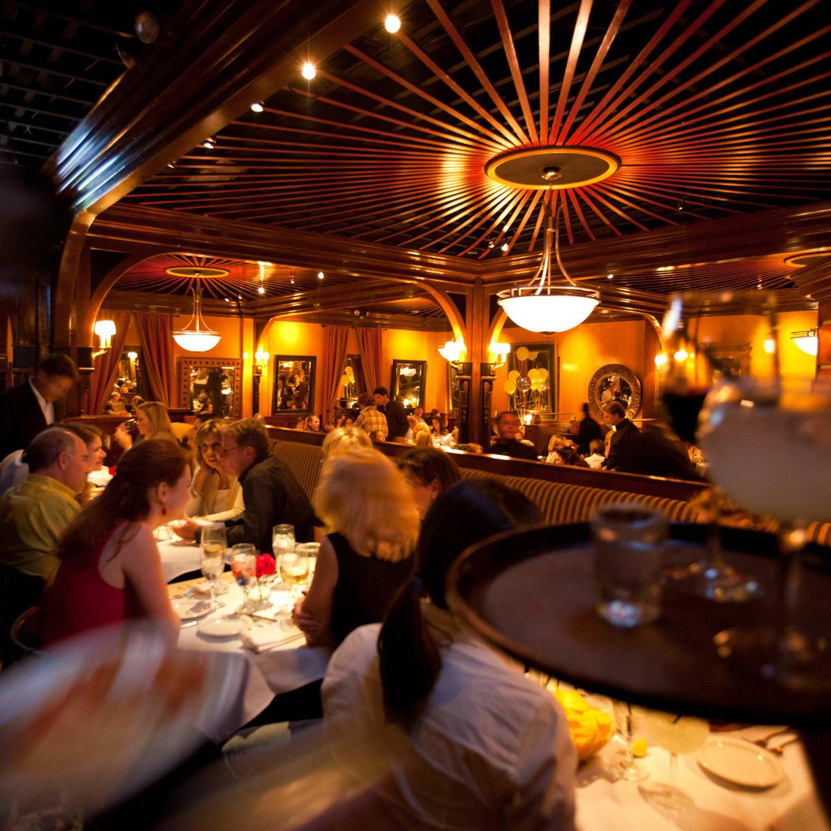 Armandos of Houston interior dining room with people_January 2014