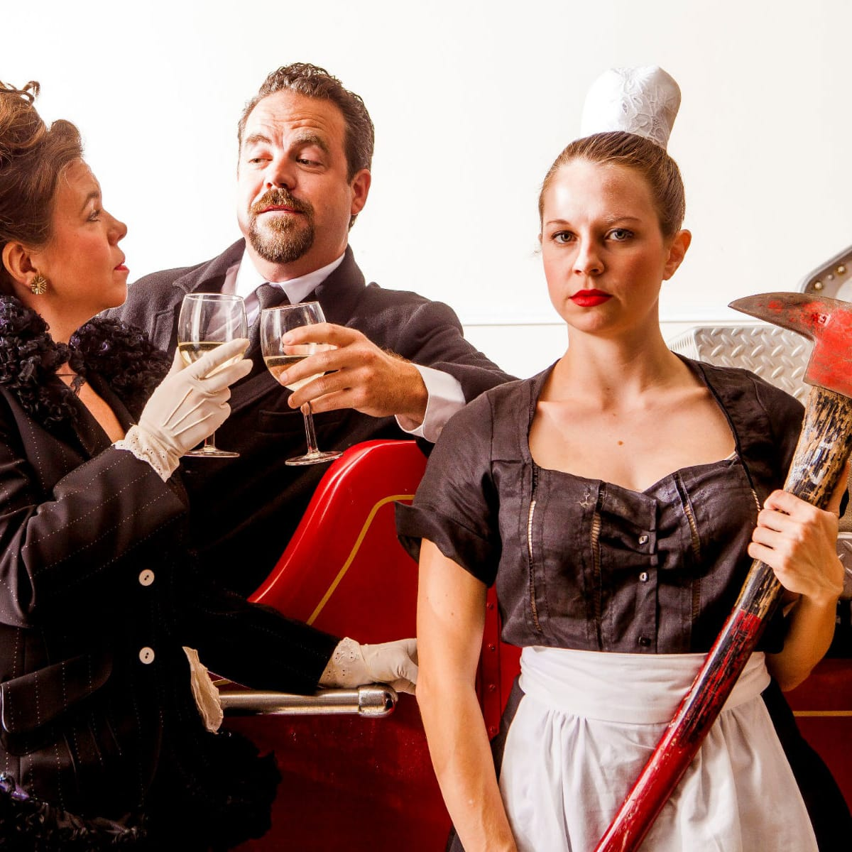 Kitchen Dog Theater presents The Arsonists