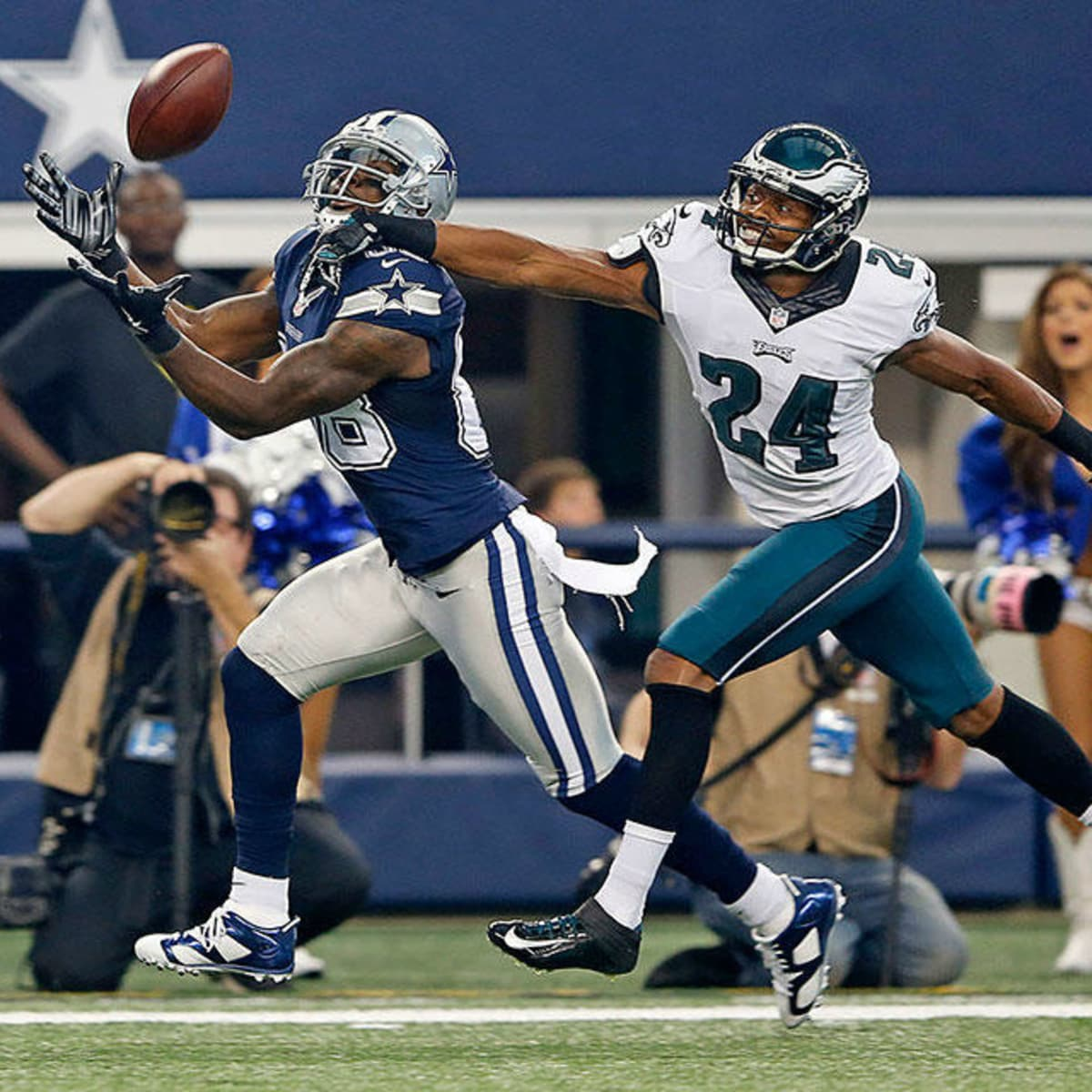 Dez Bryant of the Dallas Cowboys