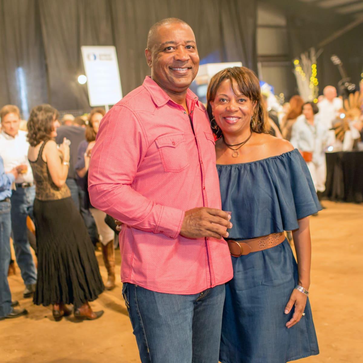 Houston, Cattle Barron's Ball 2017, May 2017, Evette Oates, Kennedy Oates