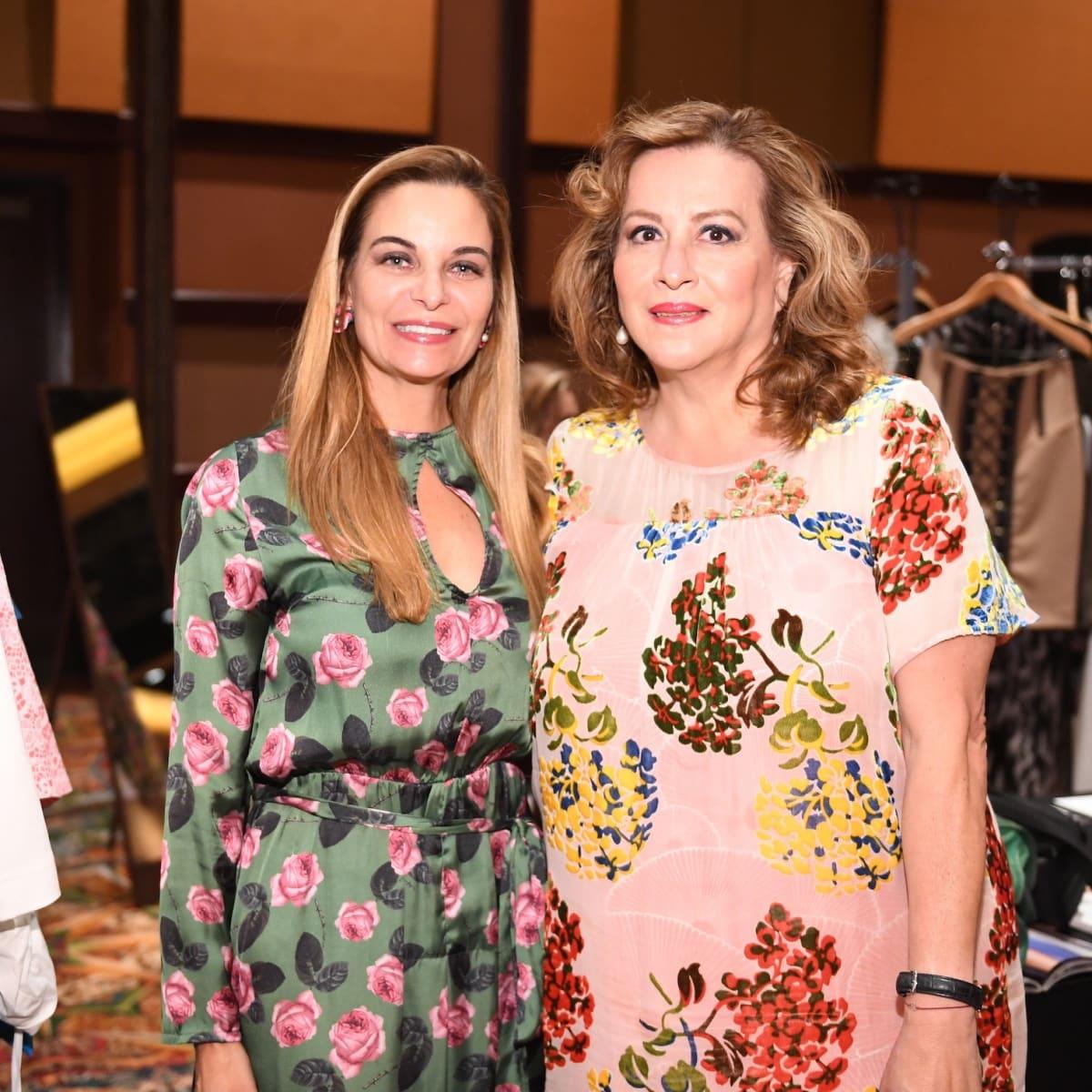 Latin Women's Initiative Luncheon, Micheline Newall, Mercedes Braun