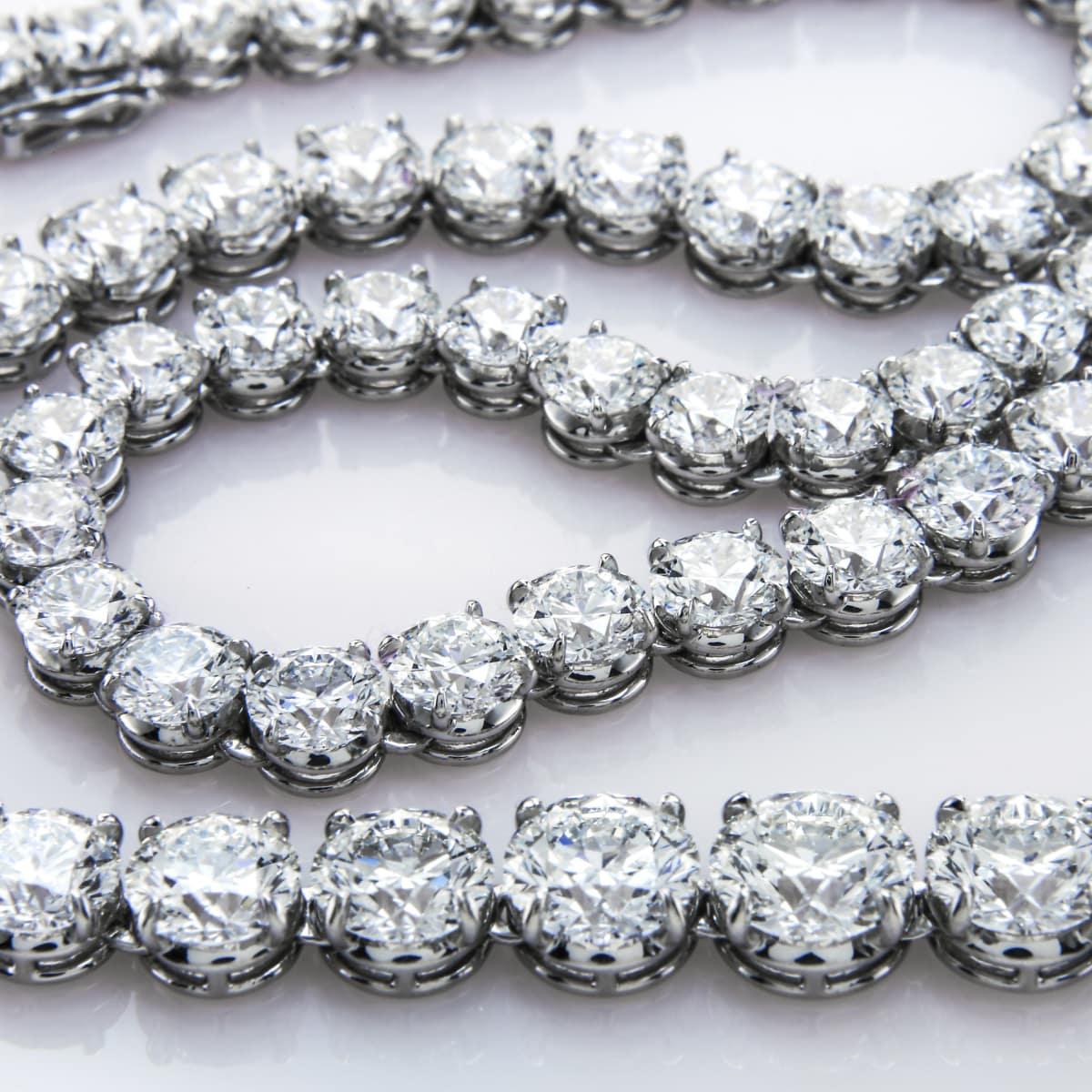 Diamond bracelet or necklace
