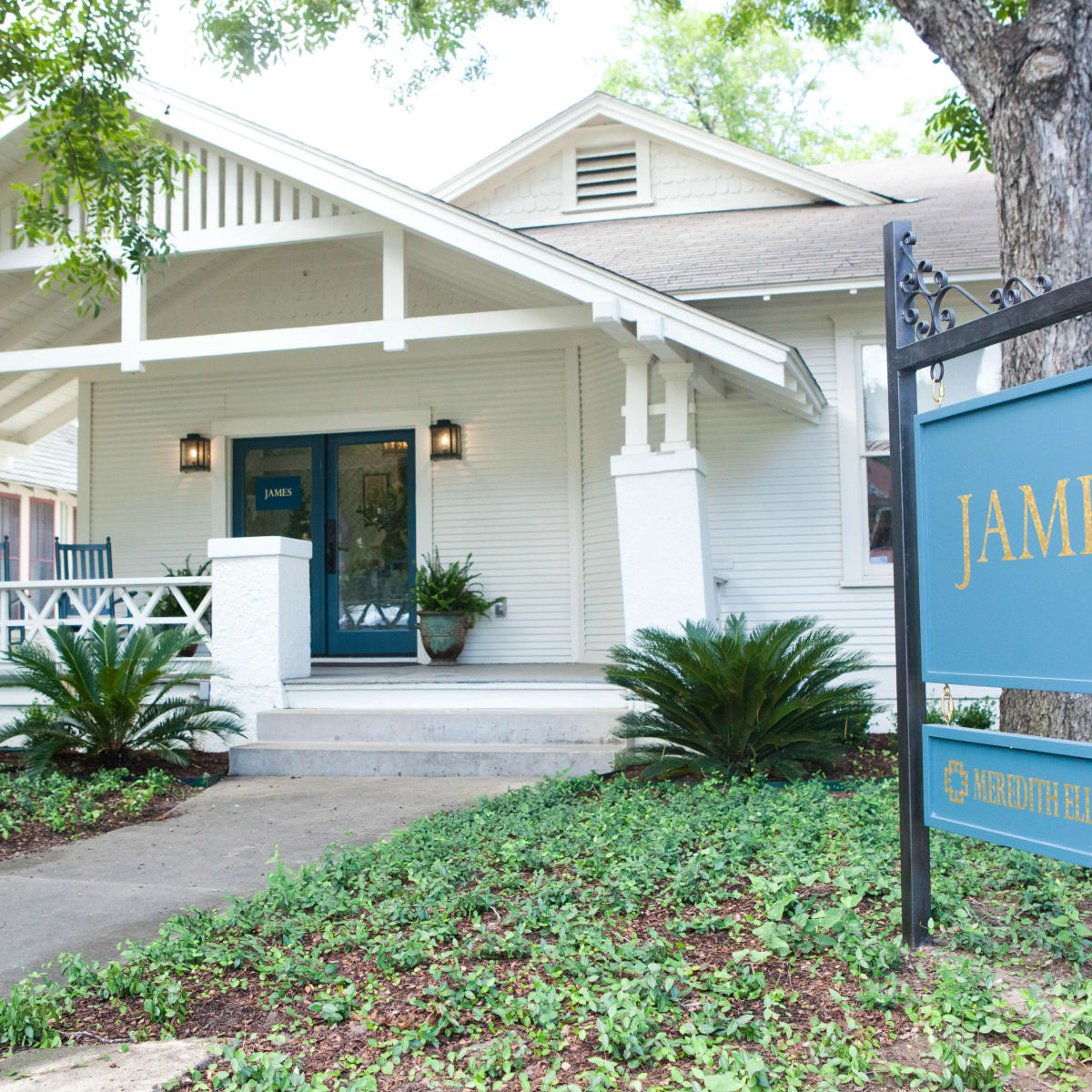 James showroom Austin
