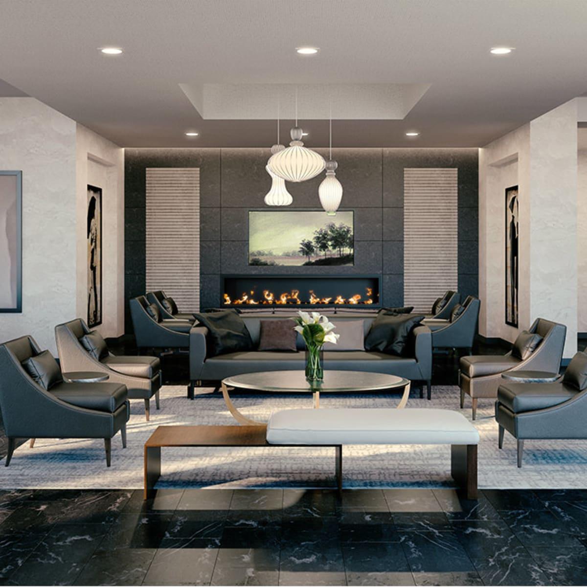 Windrose Tower Aqua Lounge
