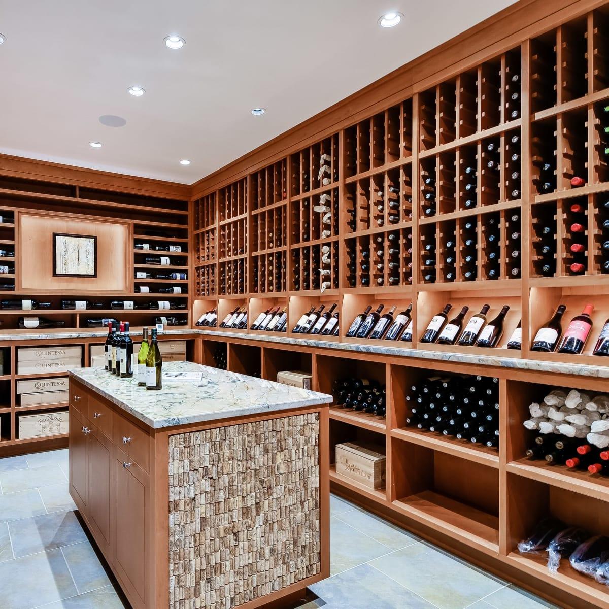 723 Elizabeth San Antonio house for sale wine room