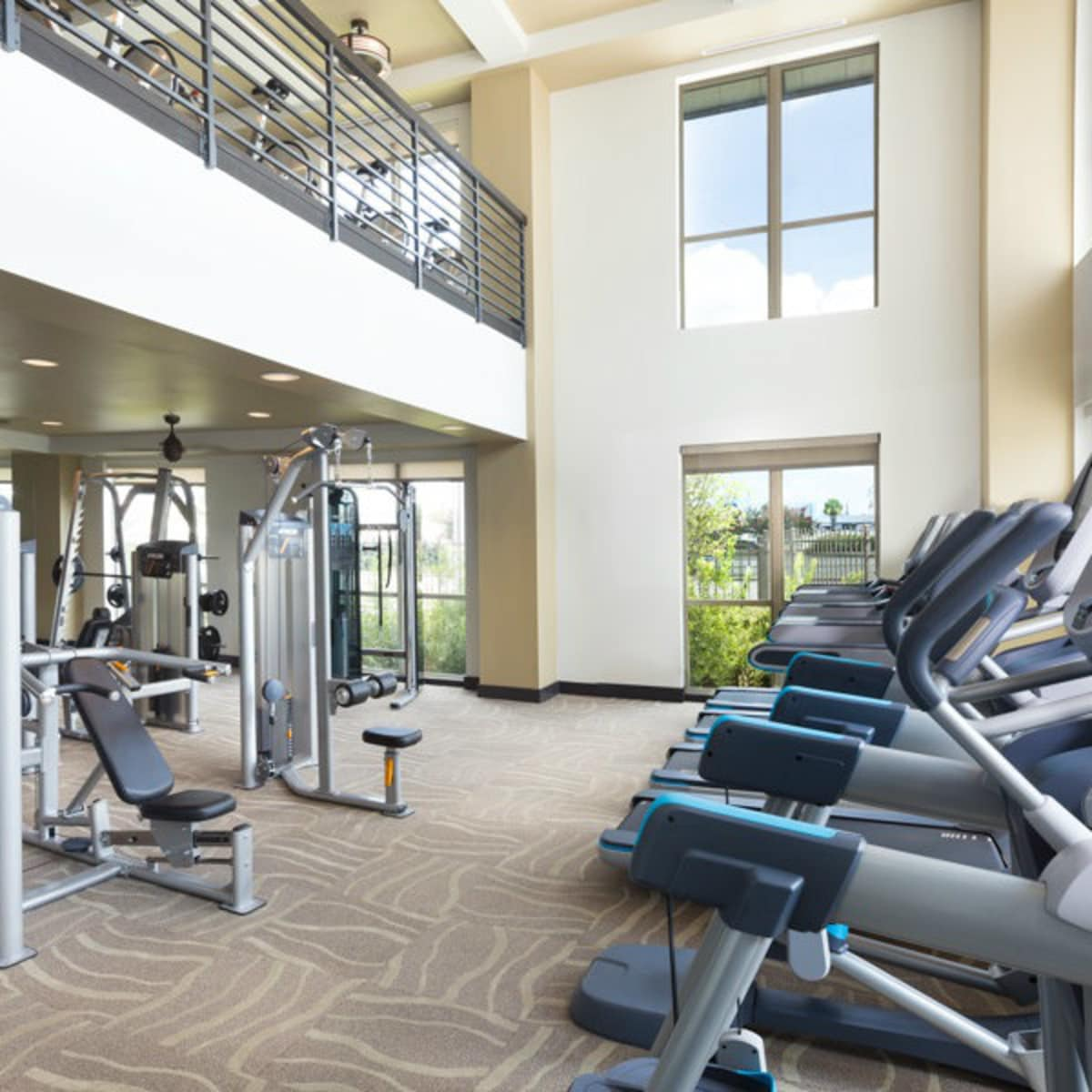 District at Memorial fitness center