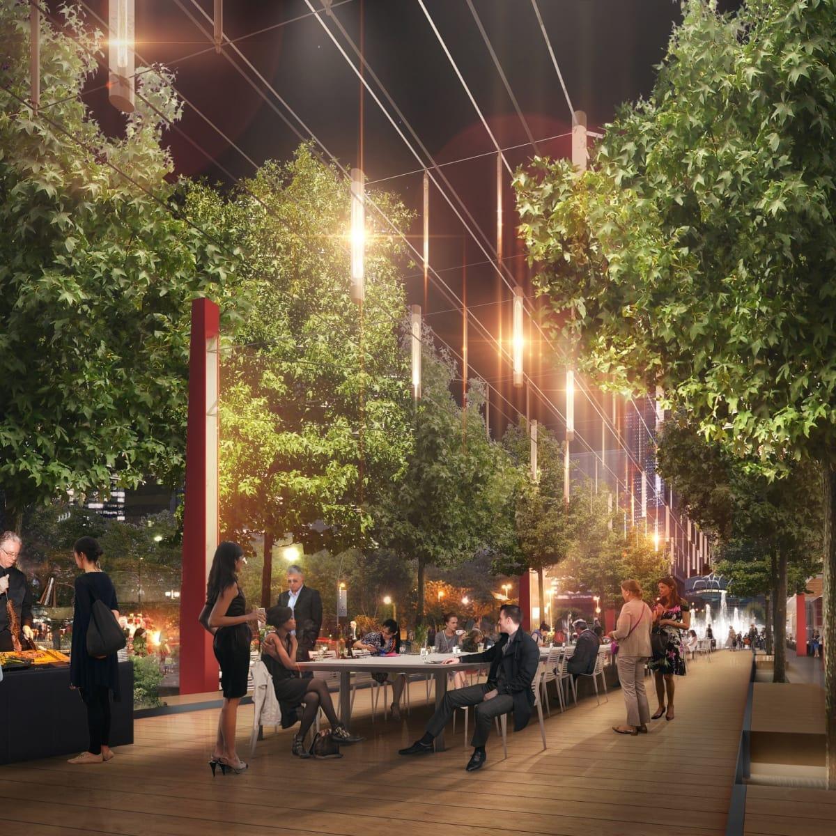 The Warf Avenida Houston rendering