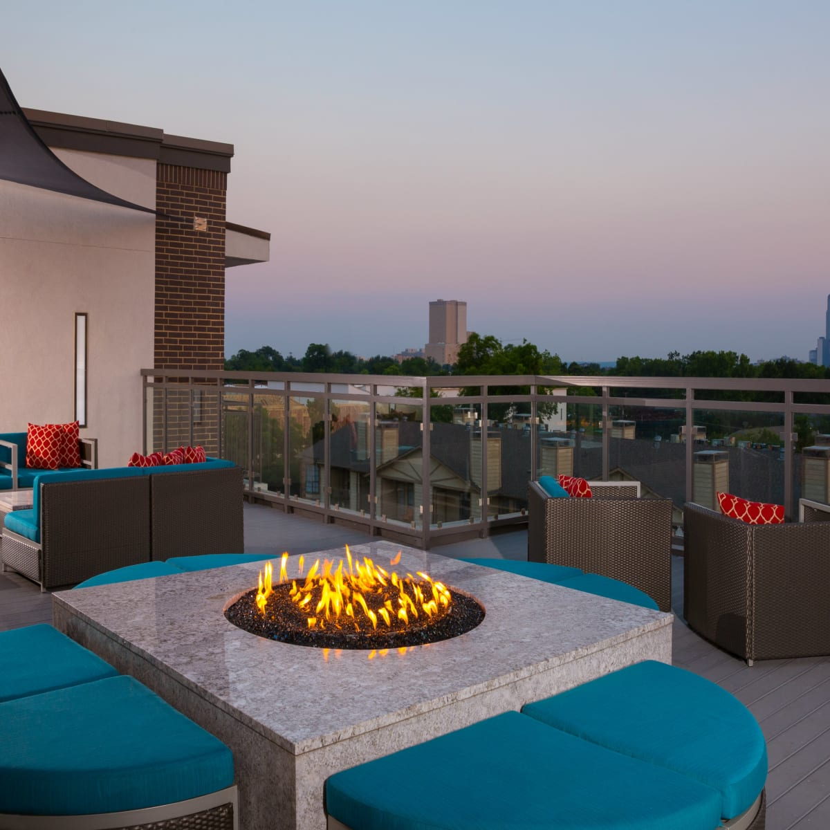 Strata Dallas roof deck