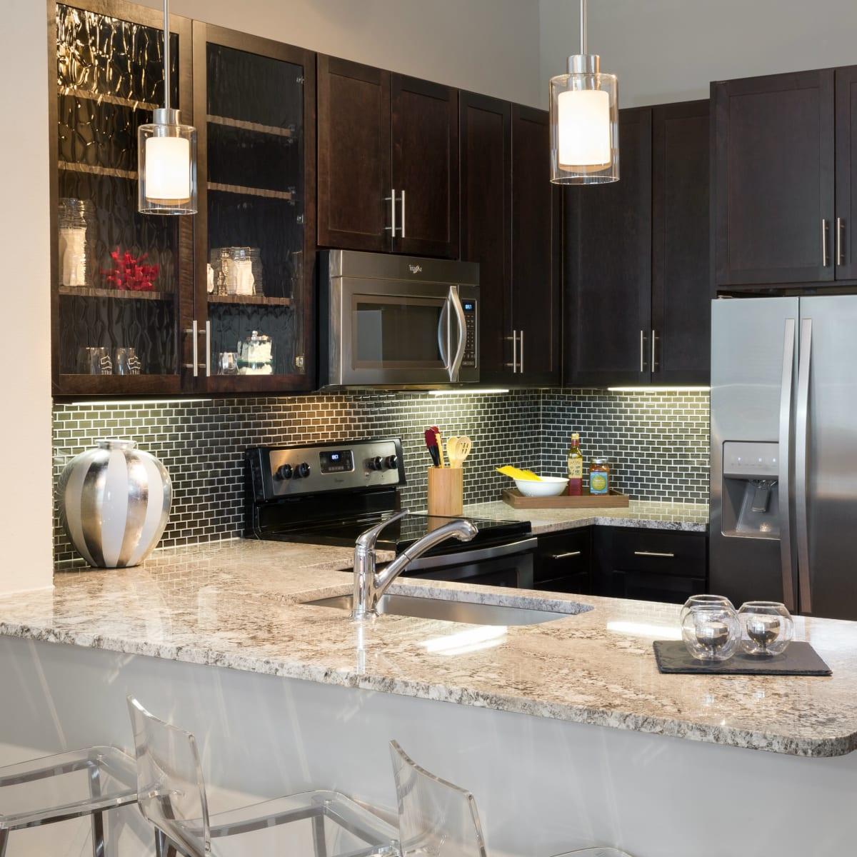 Strata Dallas kitchen