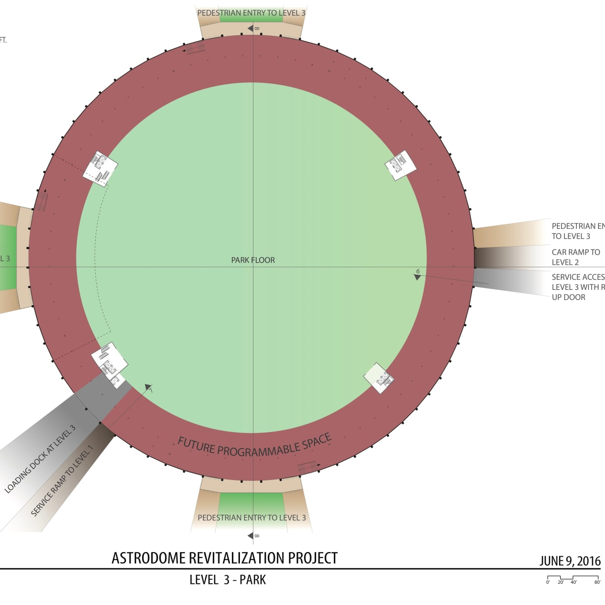 Astrodome parking rendering June 2016