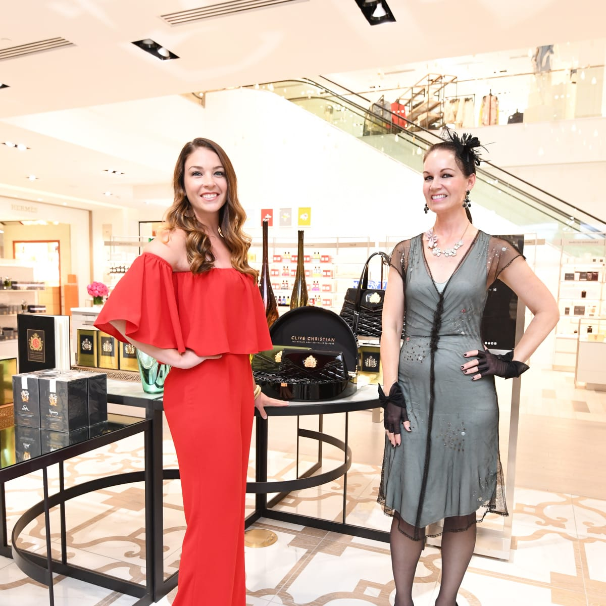 Heart of Fashion, Clive Christian Event, 6/16  Jaquel Andrews, Beth Muecke