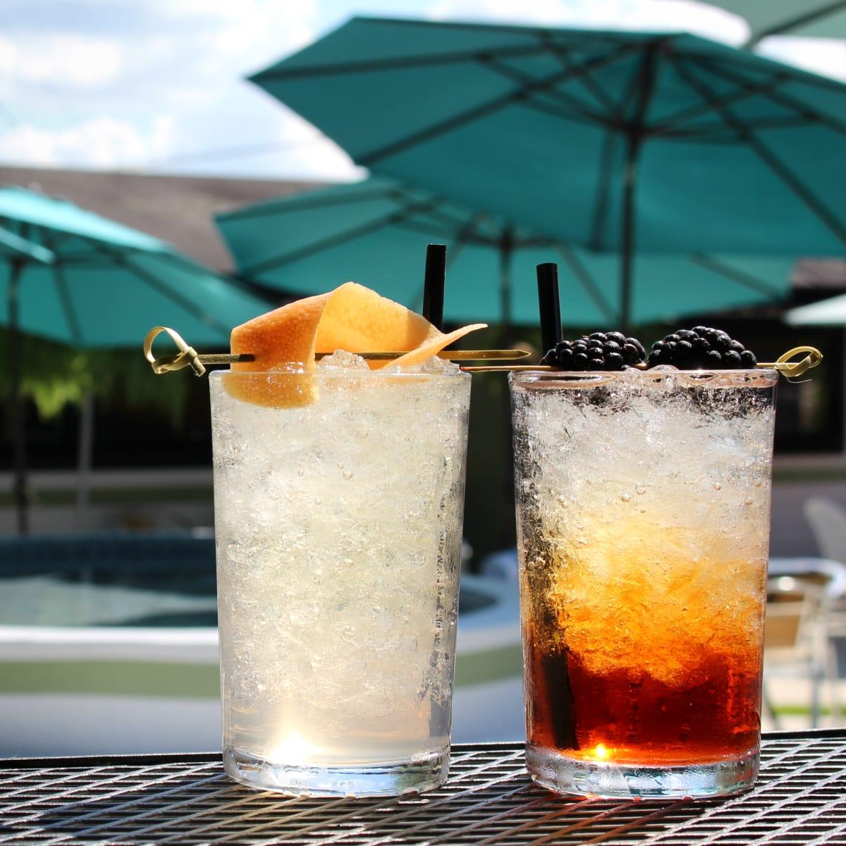 Kitty Cohen's Austin bar cocktails drinks Kitty Spritz Roman Holiday