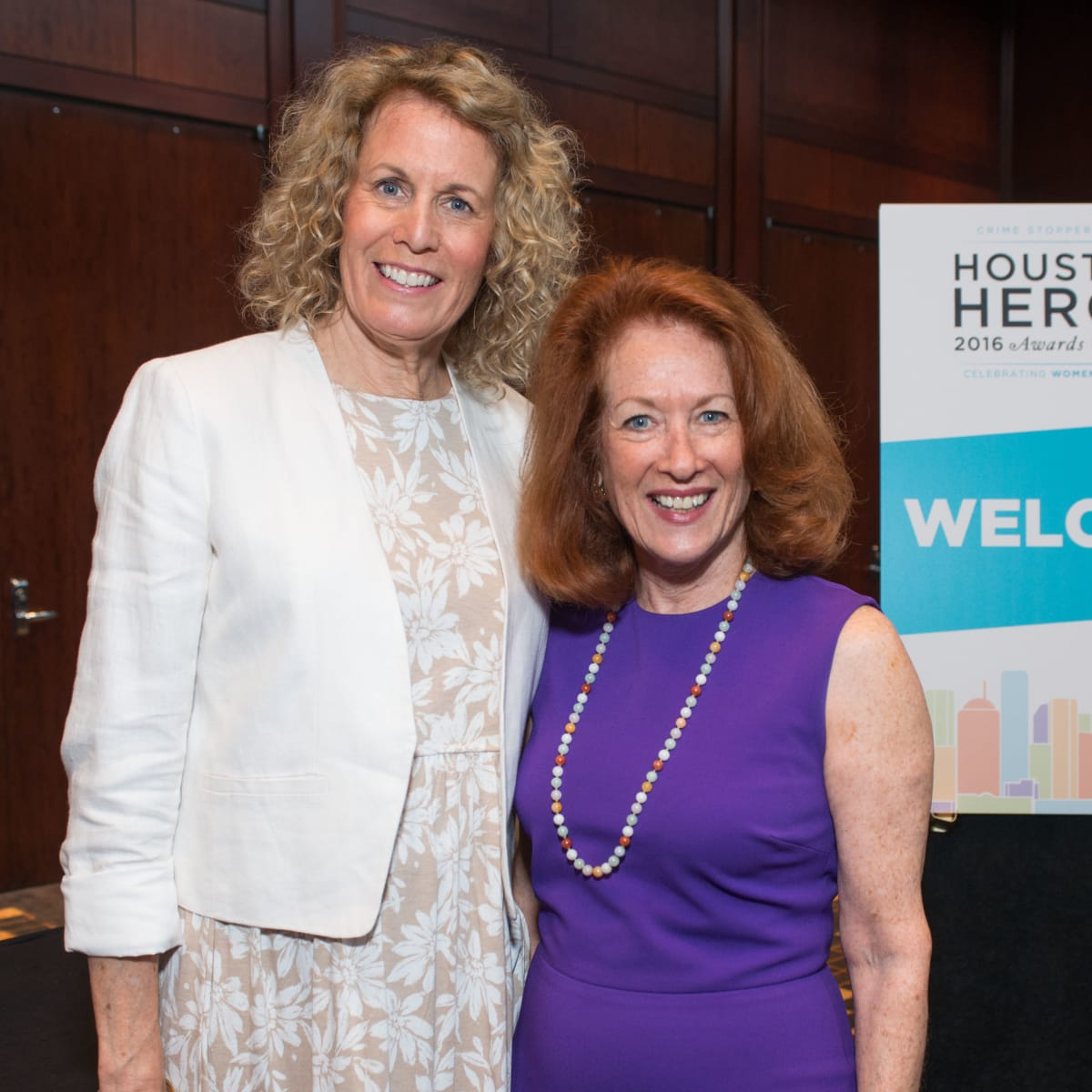 Crime Stoppers luncheon, 6/16 Hope Bliss, Sheila Aron