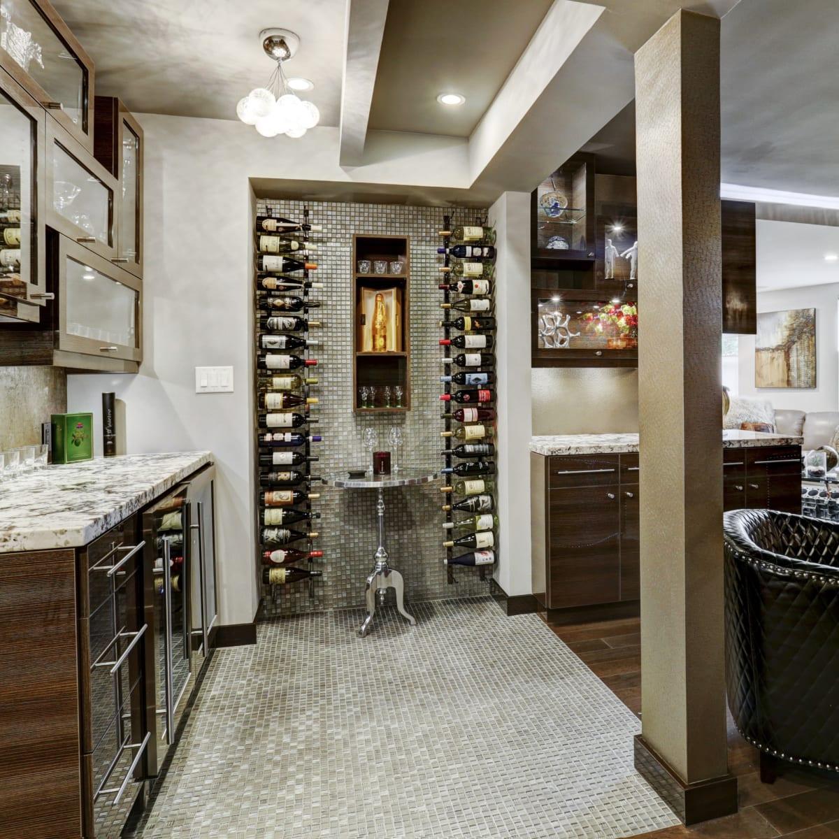 6007 Memorial, wine room