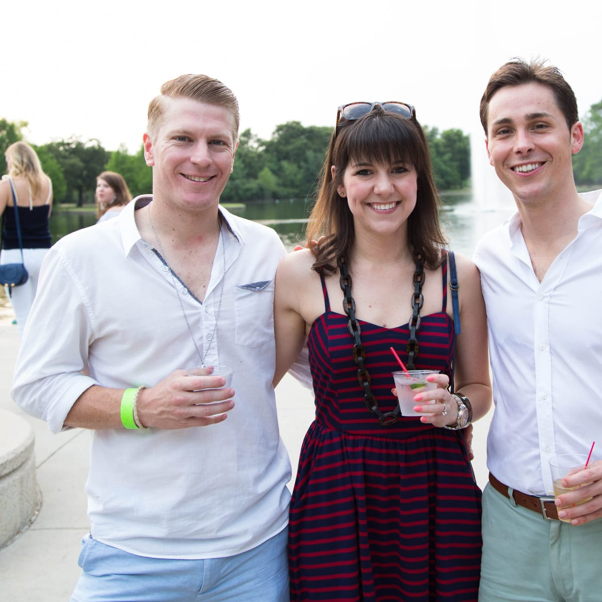 Urban Green Overboard party, Mike Willis, Haley Willis, Brandon Weinbrenner