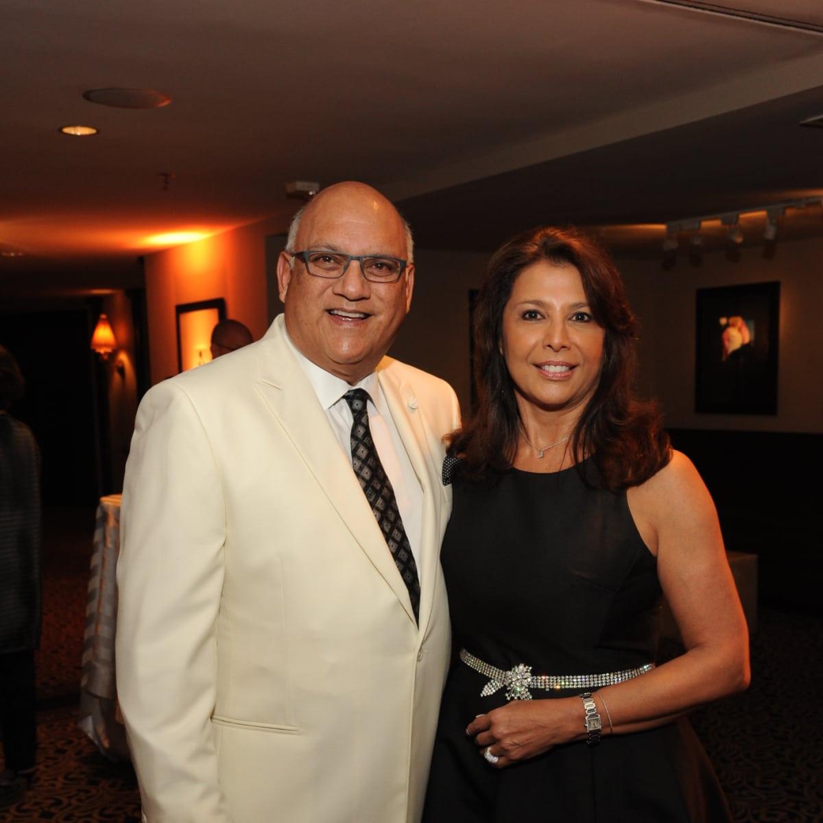 Houston Arts Alliance dinner 5/16, Dr. Fred Aguilar, Regina Garcia