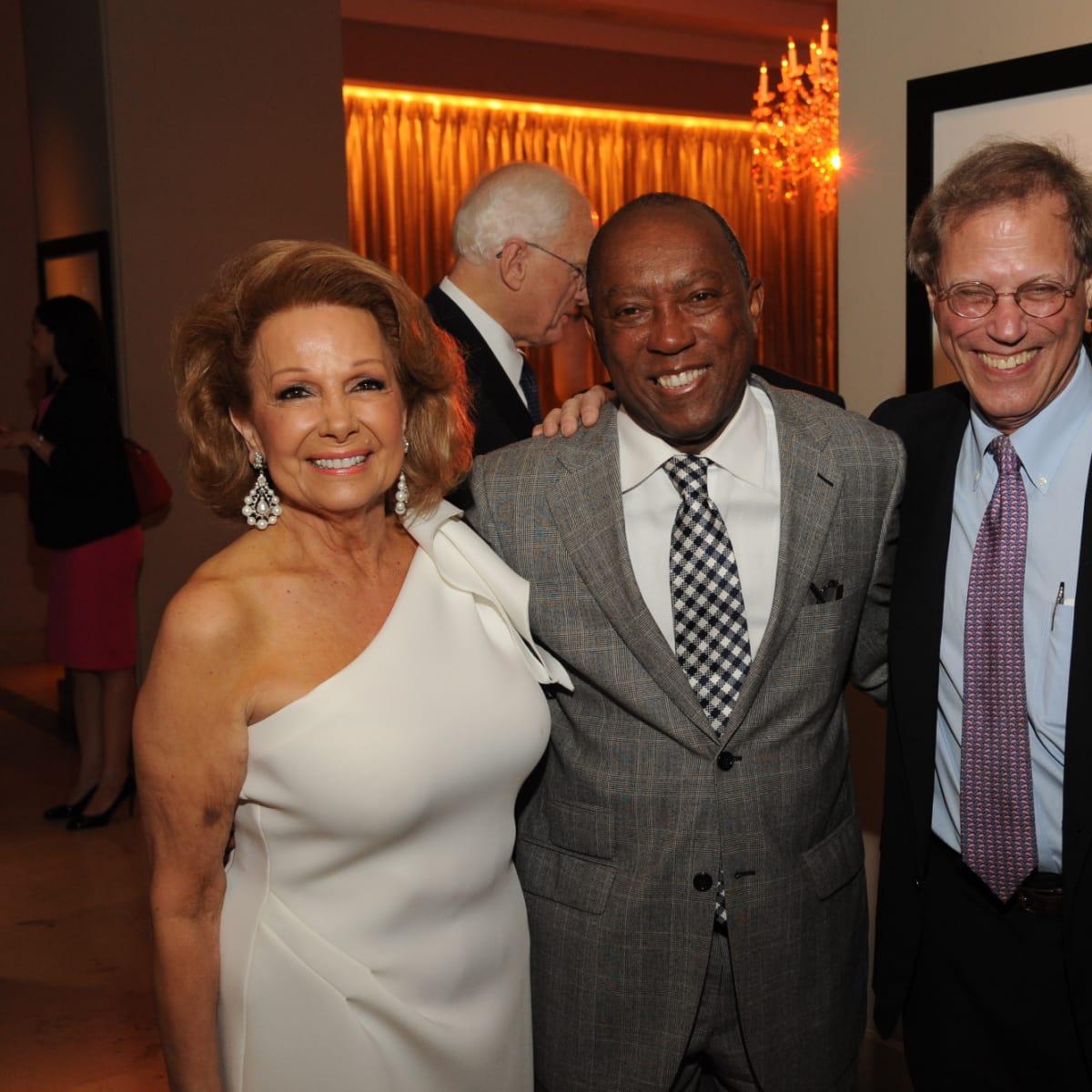 Houston Arts Alliance dinner 5/16, Philamena Baird, Mayor Sylvester Turner, Stephen Klineberg