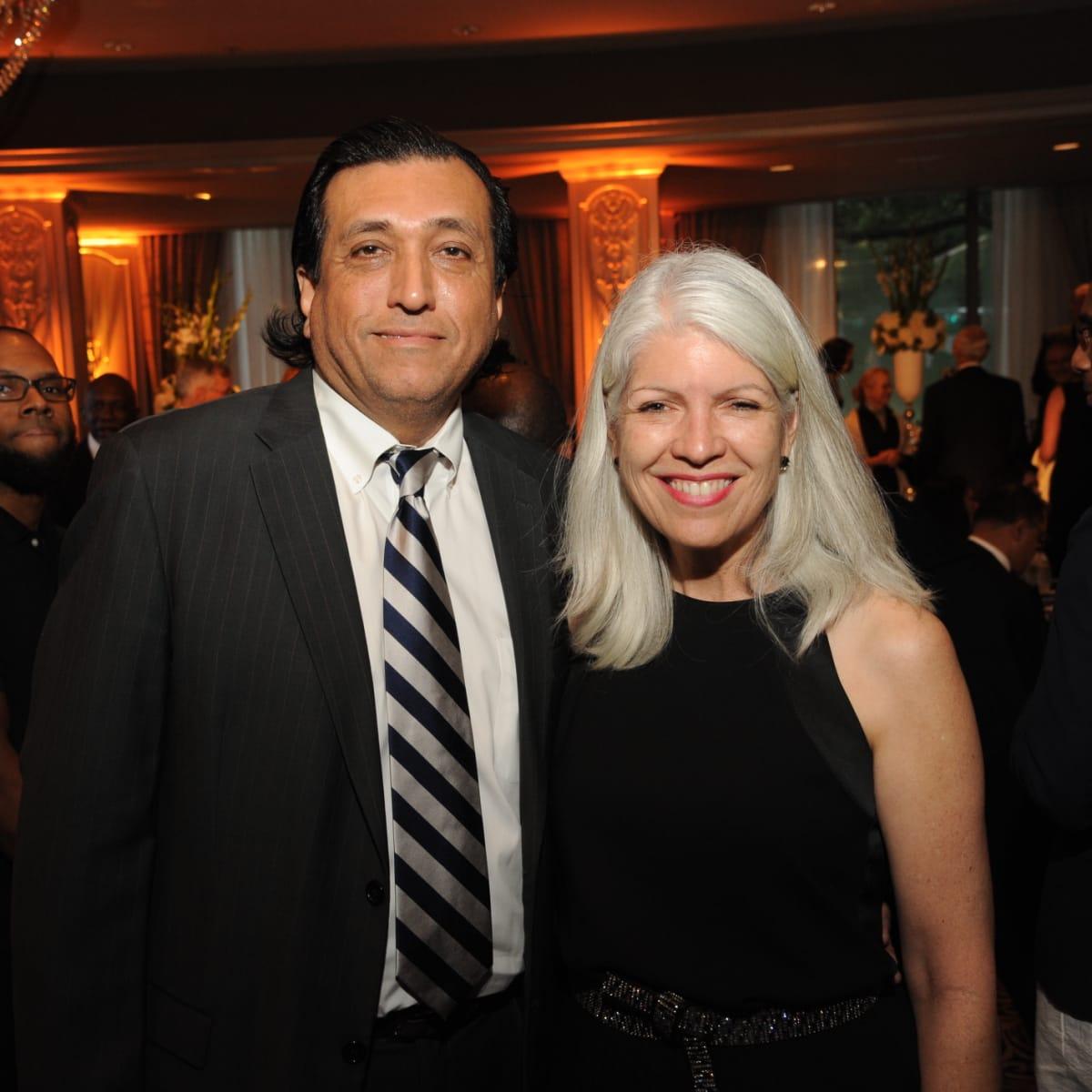 Houston Arts Alliance dinner 5/16, Tim Cisneros, Carla Cisneros