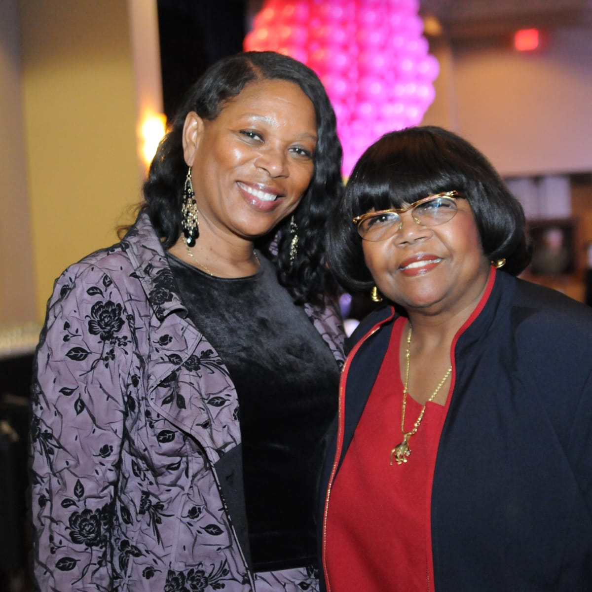 KIPP Houston dinner 4/16, Patricia Allen, Alma Allen