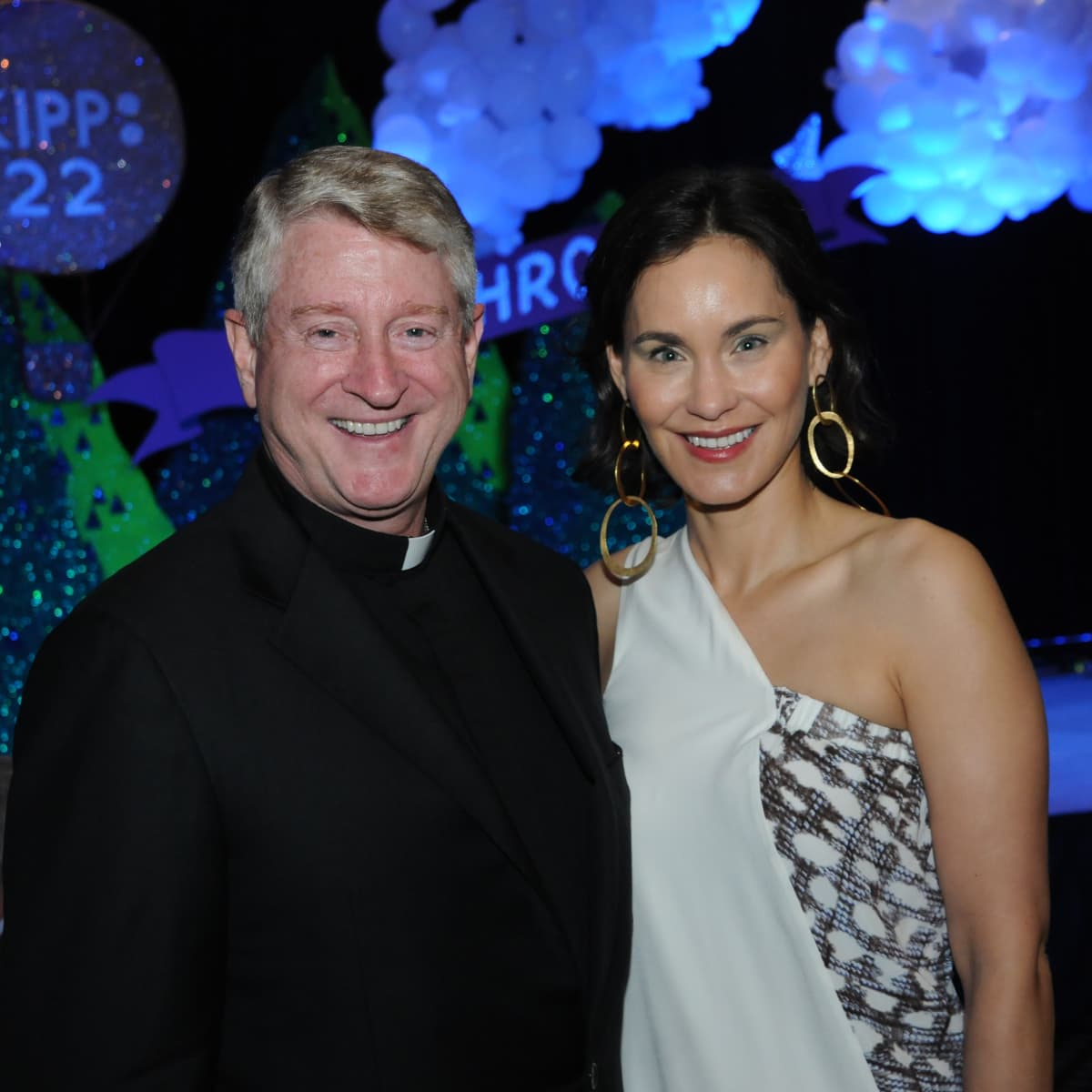 KIPP Houston dinner 4/16, The Rev. Daniel Lahart, Laura Arnold
