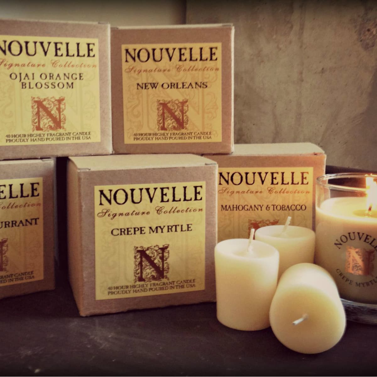 Candles from Wrare