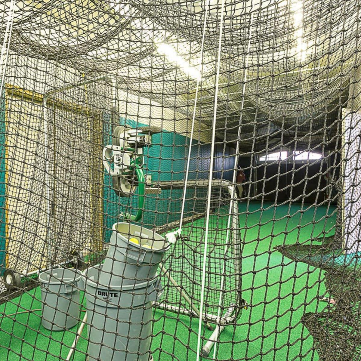 Austin home house 12006 Pleasant Panorama View 78738 Jeff Kent April 2016 batting cage
