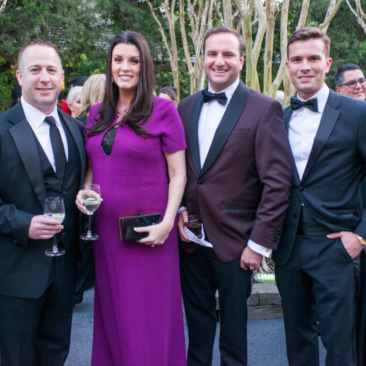 Van Cleef & Arpels party, April 2016, Dylan Seff, Jordan Seff, Tony Gibson, J.D. Adamson