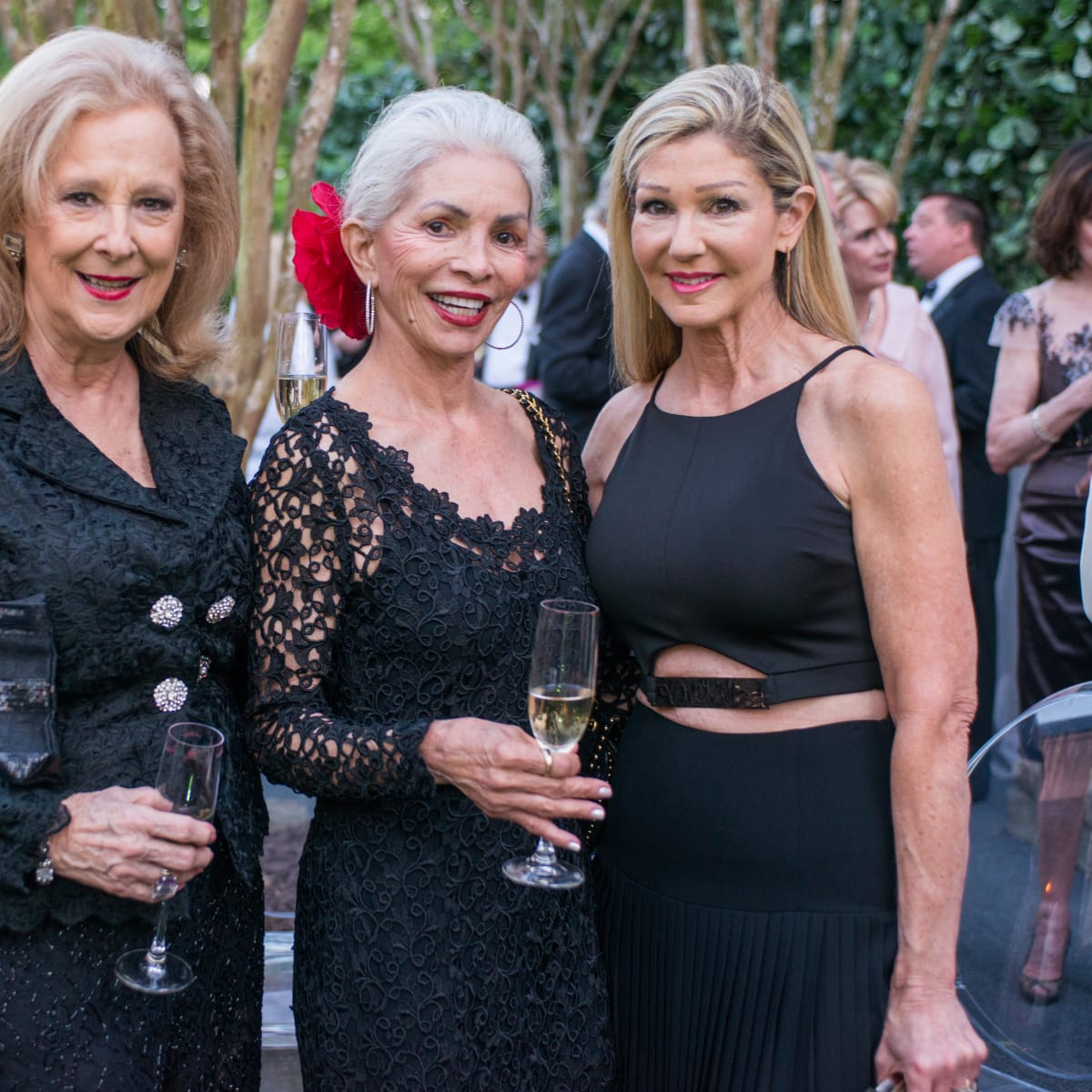 Van Cleef & Arpels party, April 2016, Mary Ann McKeithan, Henri Hall, Patti Murphy