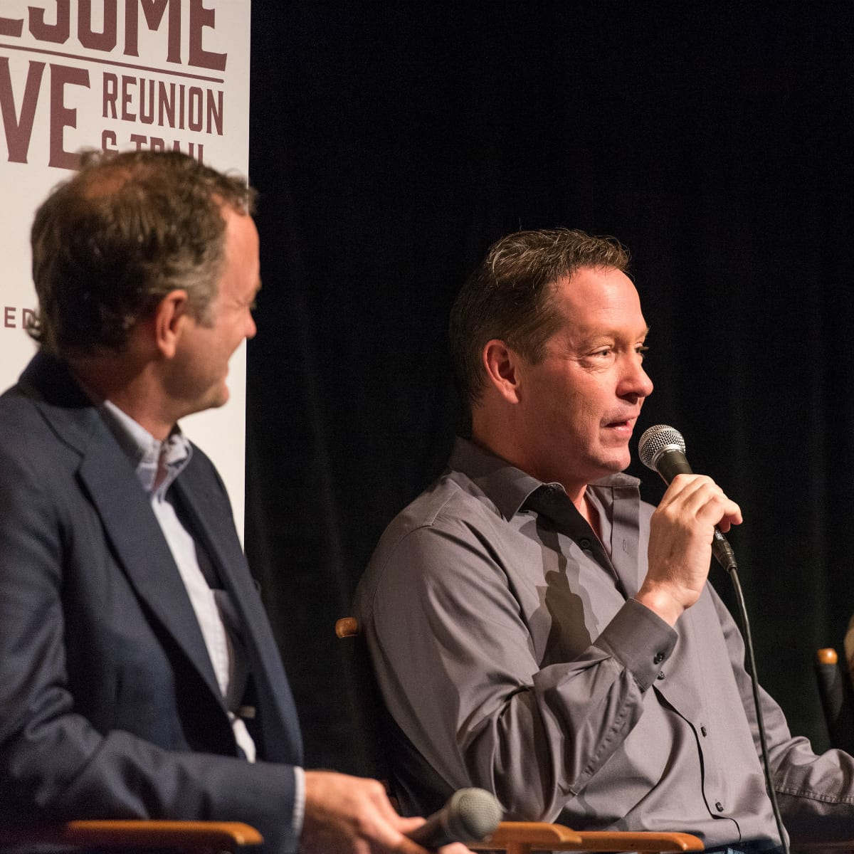 D.B. Sweeney at Lonesome Dove Reunion