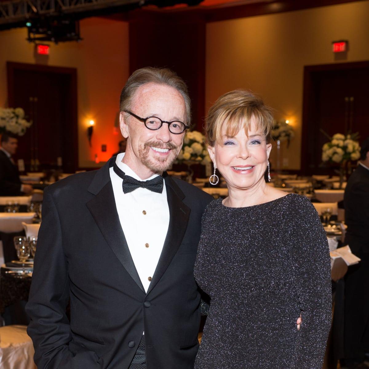 Covenant House Gala, March 2016,Bob George, JoAnn Petersen
