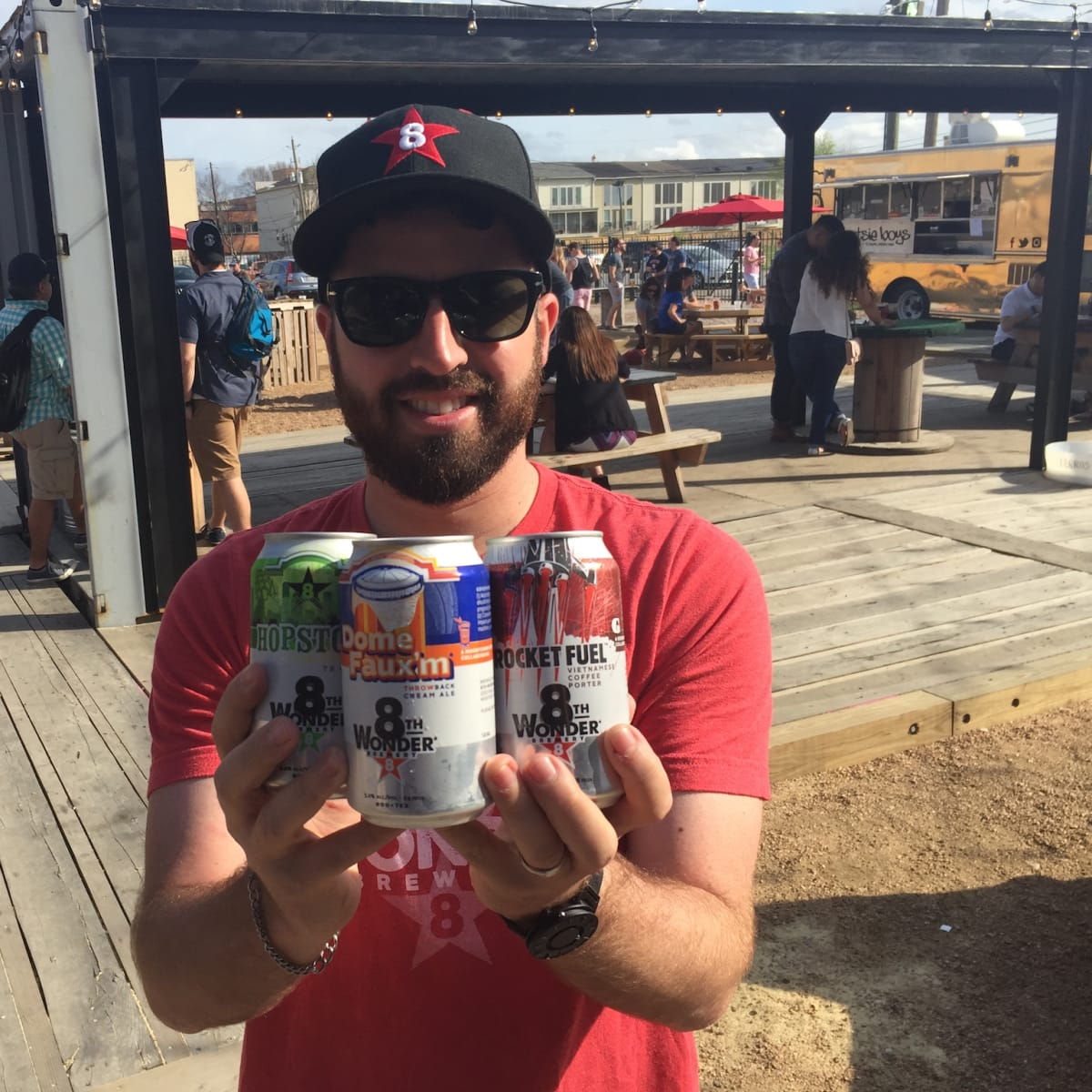 8th Wonder Brewery cans Ryan Soroka