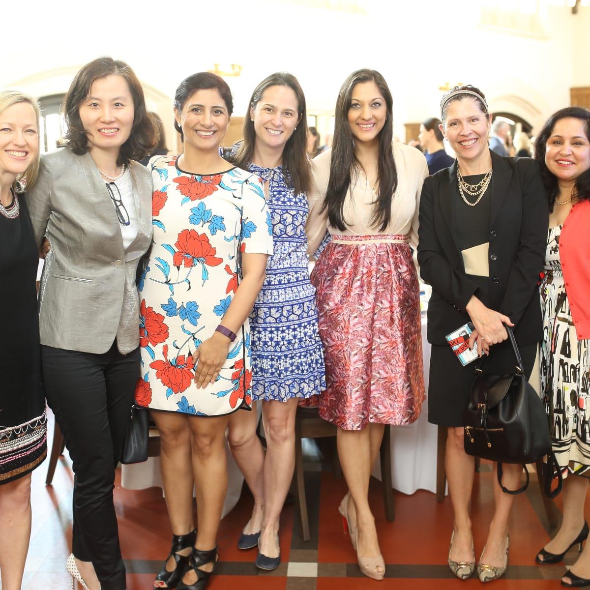 Breakthrough Houston, March 2016, Janice Nicholson_Yao Shen_Preity Bhagia_Pery Shure, Sippi Khurana, Michelle Miller, Nita Singhal