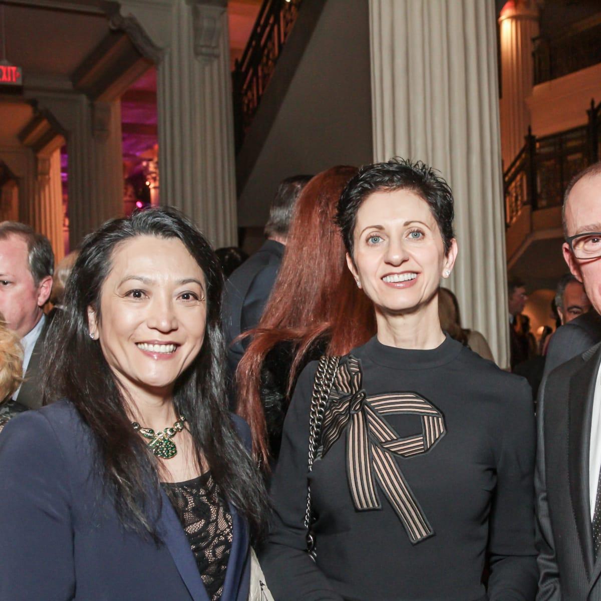 Nathalie Roff, Lilliane Nahas, Cesar Nahas at Club da Camera
