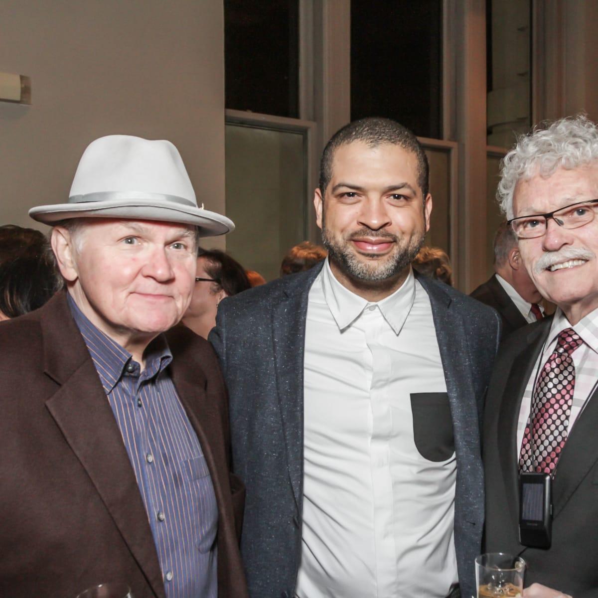 Bruce Stram, Jason Moran, Bob Morgan at Club da Camera