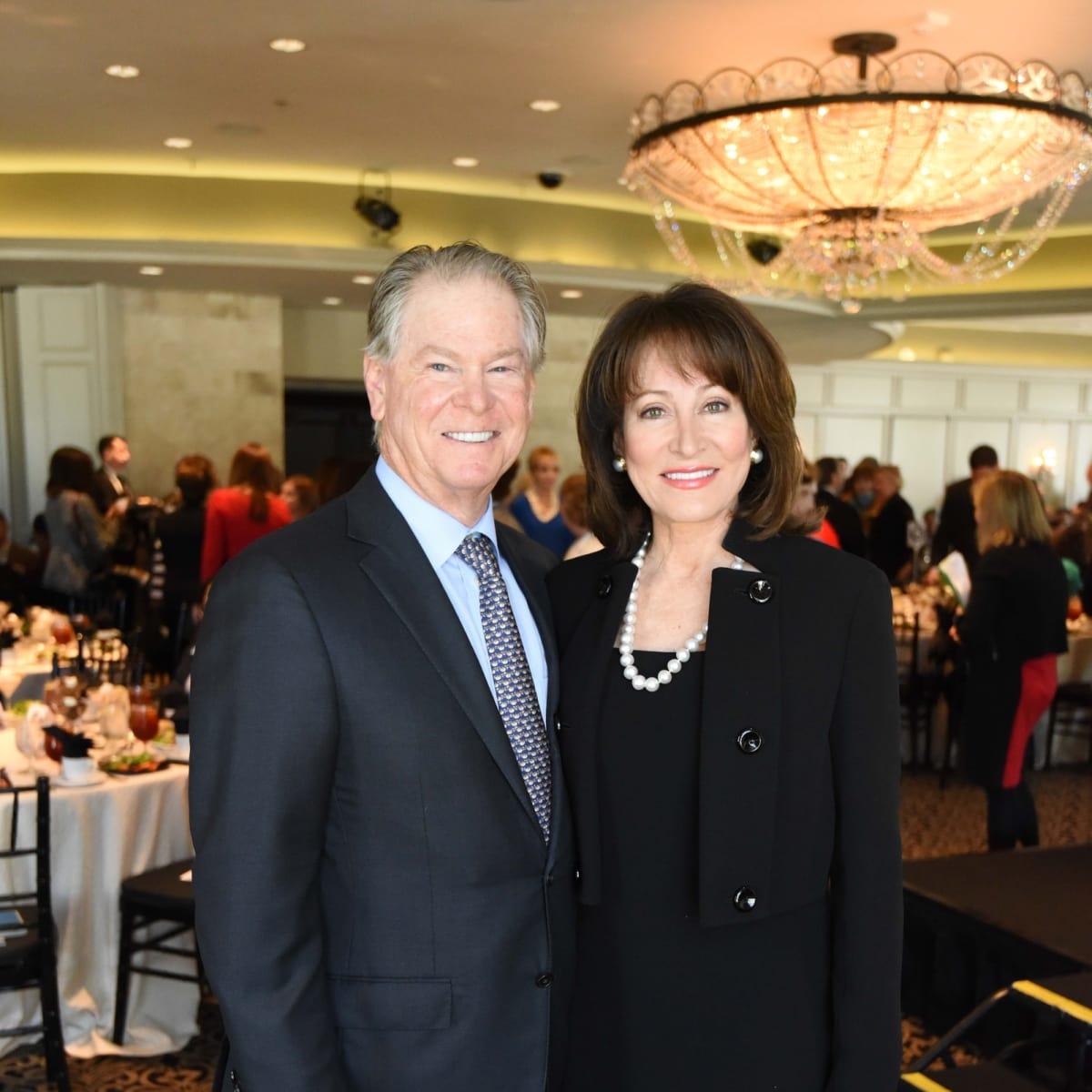 El Centro luncheon, Feb. 2016, Steve Lasher, Janiece Longoria