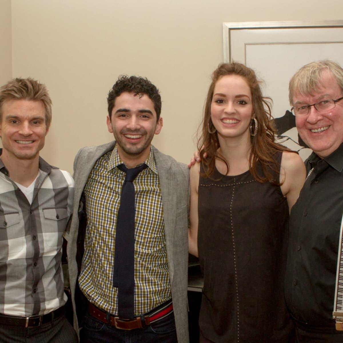 UT Music Fundraiser Timothy Boaz, Christopher Montalvo, Emma Center, Marshall Maxwell