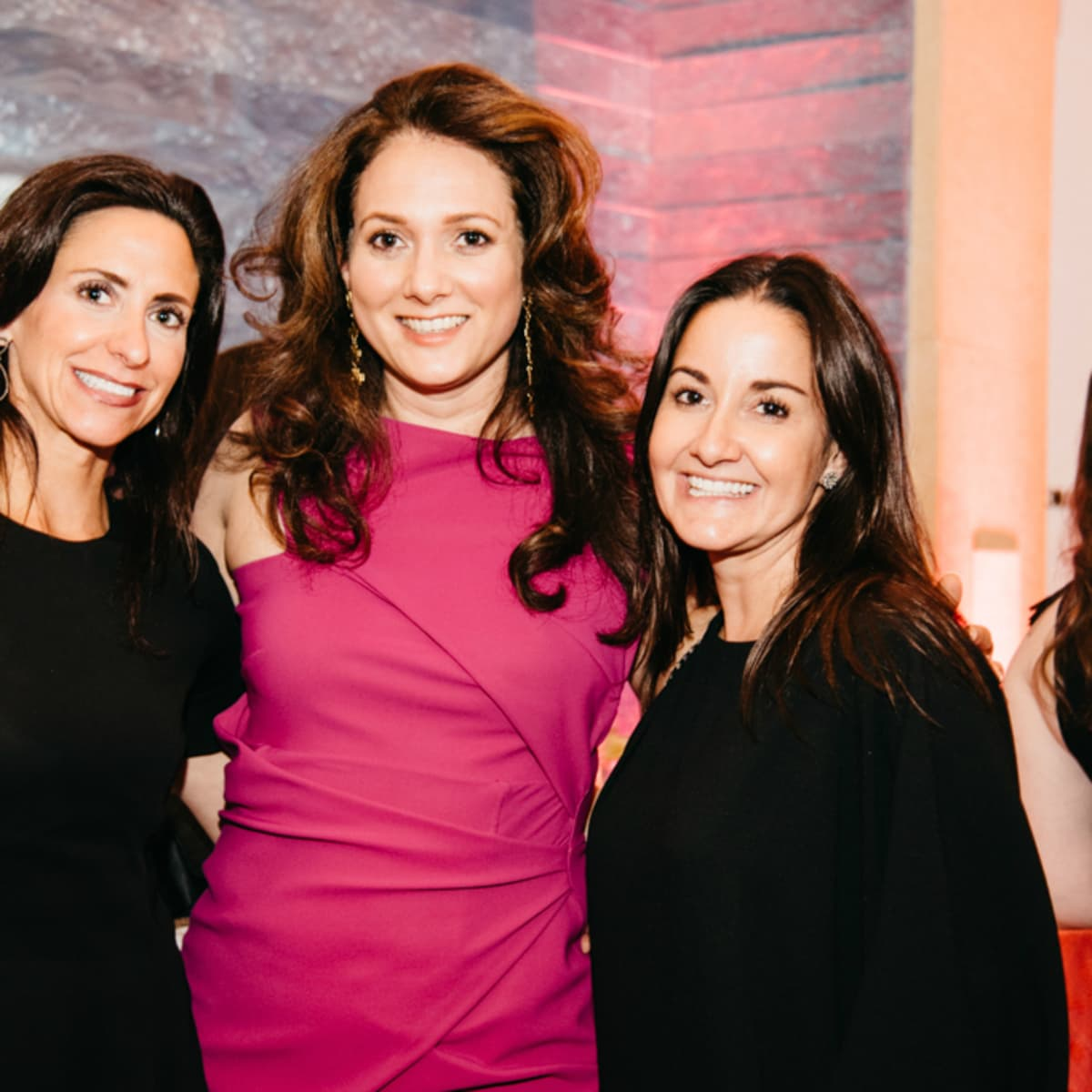 Blanton Museum Art on the Edge gala February 2016 Julie Knox Simone Wicha Lora Reynolds